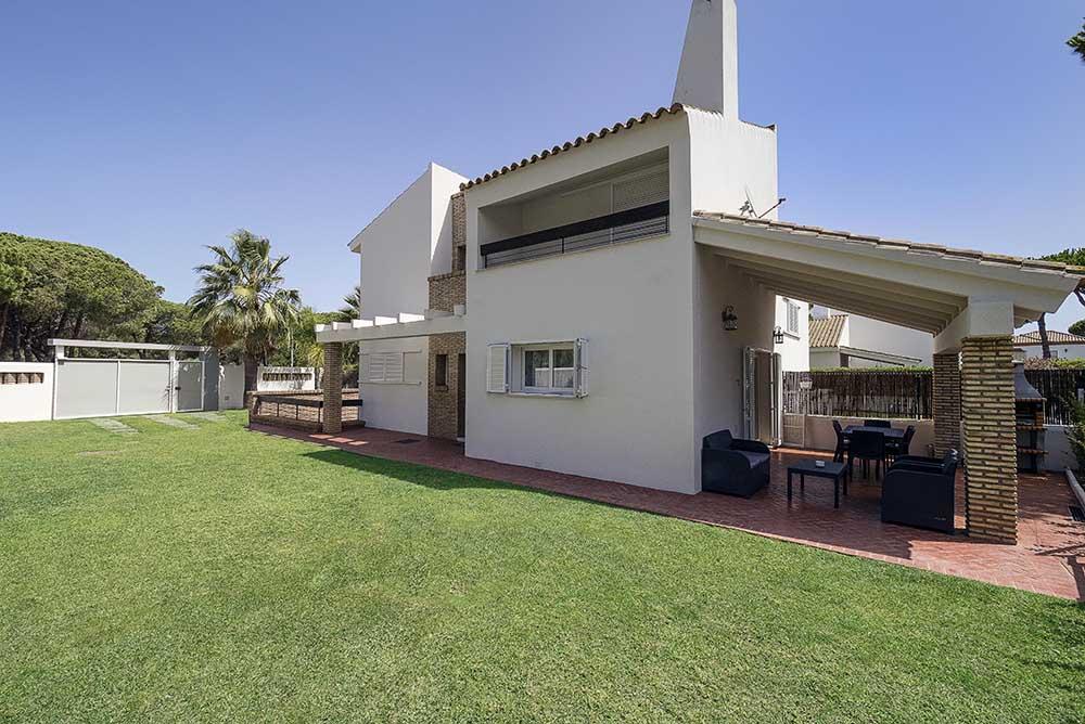 Casa en Alquiler con Piscina en La Barrosa